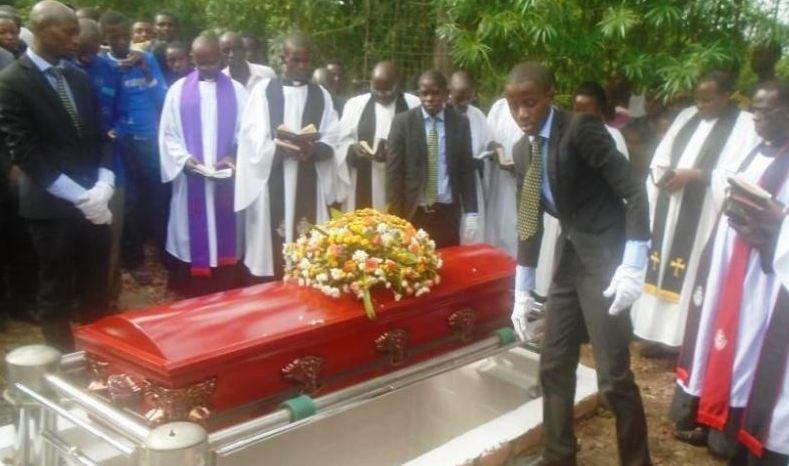 Carol Atuhirwe buried at her ancestral home in Ibanda