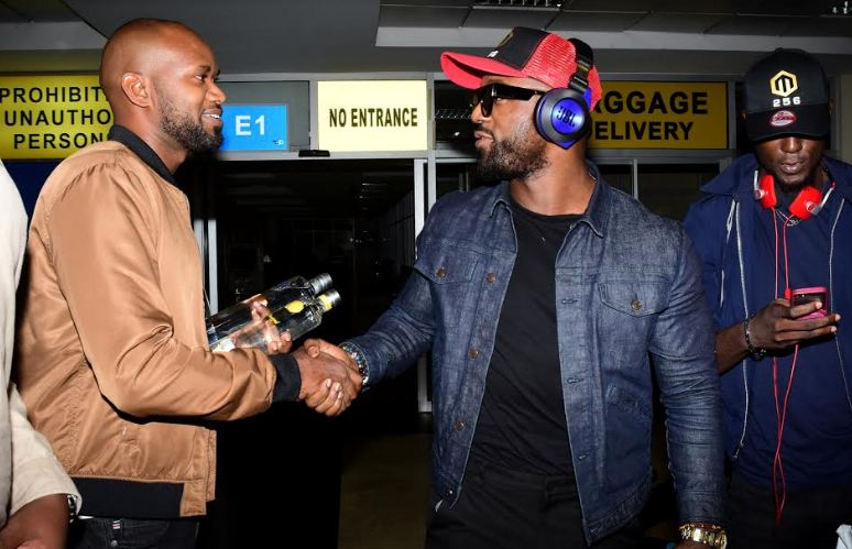 Iyanya arrives in Uganda