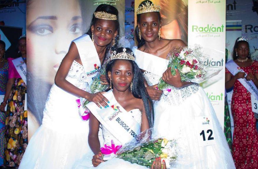 Miss Tourism Busoga region queens