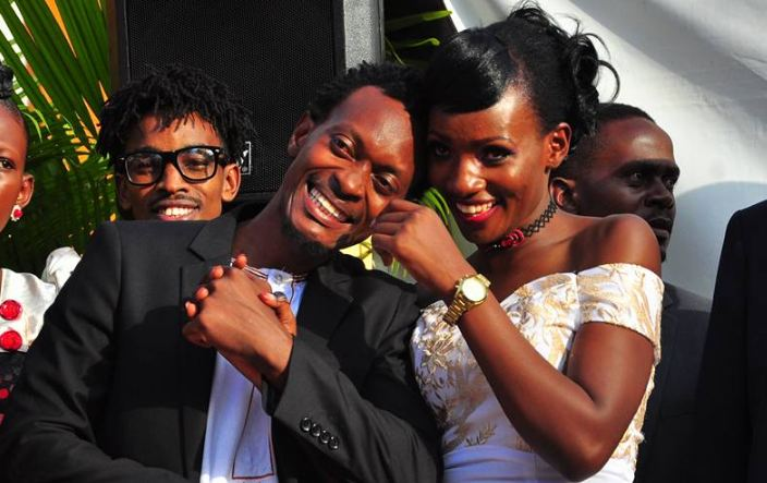 Fifi da Queen and her lover Nsubuga Abdallah at Kukyala ceremony