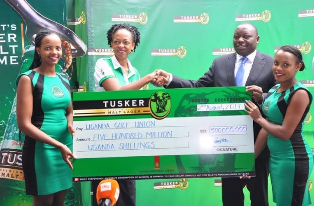 Uganda Breweries Limited, through its premium brand Tusker Malt Lager, has announced sponsorship of the 75th edition of the annual Uganda Open Golf Tournament