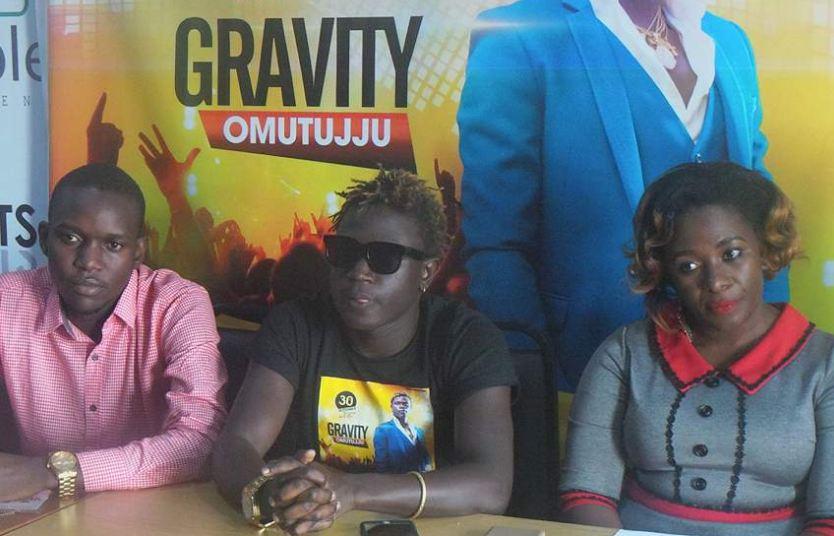 """Gravity Omutujju""""Tujjuze Lugogo"""" press conference"""