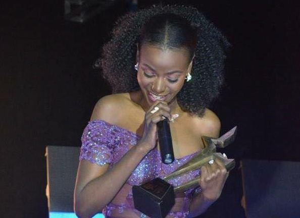 Hellen Lukoma wins best actress award at the Uganda Entertainment Awards