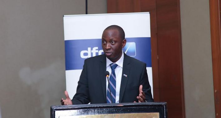 dfcu Bank Uganda's Chief of Business, William Sekabembe