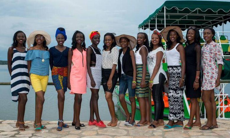 Miss Tourism Uganda 2017 finalists