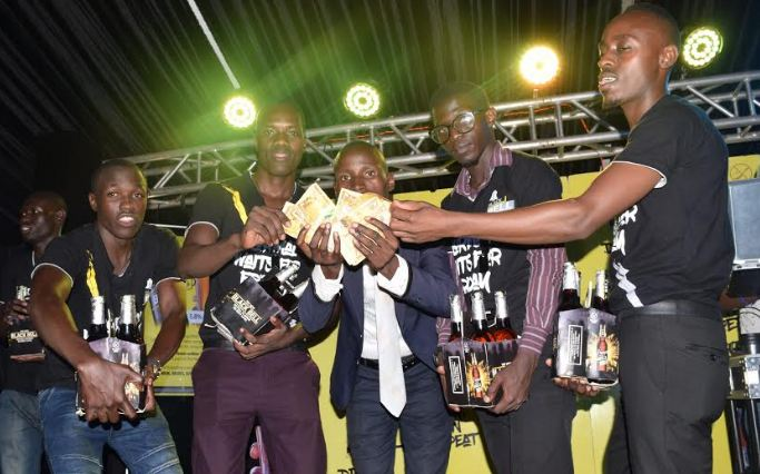 KIU are champions of the inaugural Beer Olympics