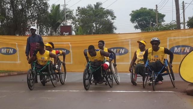 Wheelchair road race