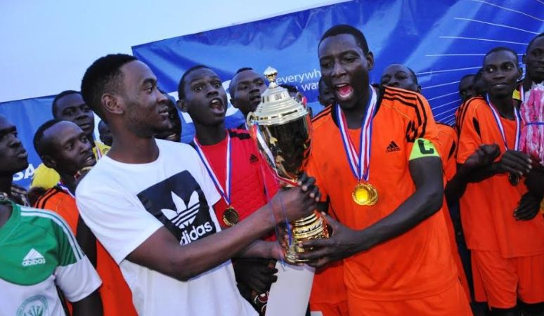 Bunamwaya FC were crowned champions after beating Katanga FC in the 2017 Jedidiah Foundation Challenge Cup finals.