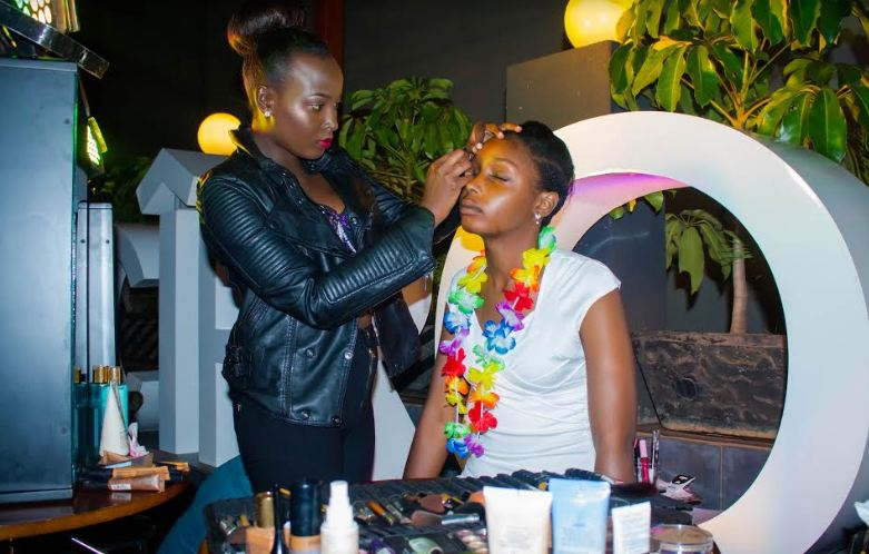 Faith Imani of Imani Make-Up studios at the Ciroc Ultra night