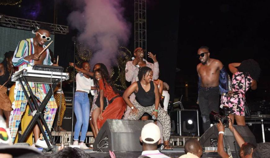 Sauti Sol at Blankets and Wine Kampala