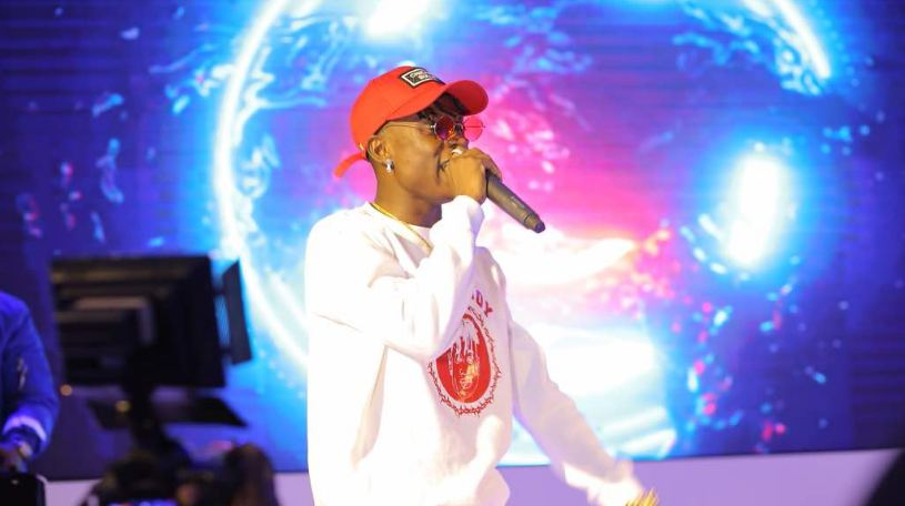 "Fik Fameica performs at the ""Castle Lite Unlocks"" music experience launch"