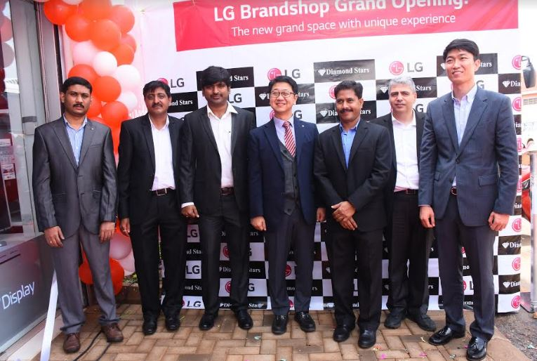 LG Electronics has launched a new brand shop in Kampala