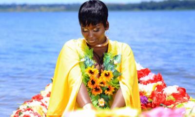 "Winnie Nwagi in ""Bunsonsomola"" video shoot"