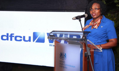 Rosemary Mutyabule, a member of the dfcu Bank Women in Business Advisory Council