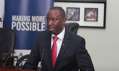 dfcu Bank's Chief of Business and Executive Director; William Sekabembe.