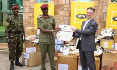 The MTN Foundation has today handed over scholastic materials including books, pens and bags and launched a one-year feeding program for Summit View Army Primary School, Kololo.
