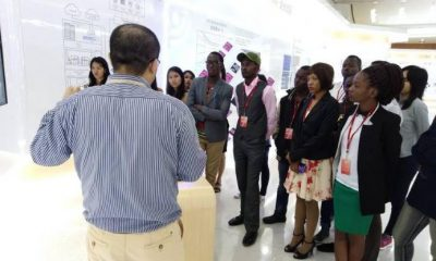 Ugandan ICT students undergoing training at Huawei's Technologies Co. Ltd Headquarters in Shenzhen China.