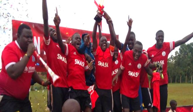 Kitende S.S successfully defended their COPA Coca Cola Wakiso regional championship trophy when they defeated fellow Wakiso giant Budo S.S