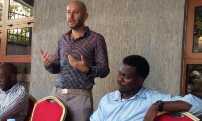 Jumia regional manager Sefik Bagdadioglu addressing media