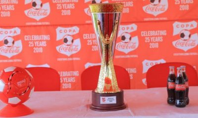 COPA Coca-Cola national championships trophy