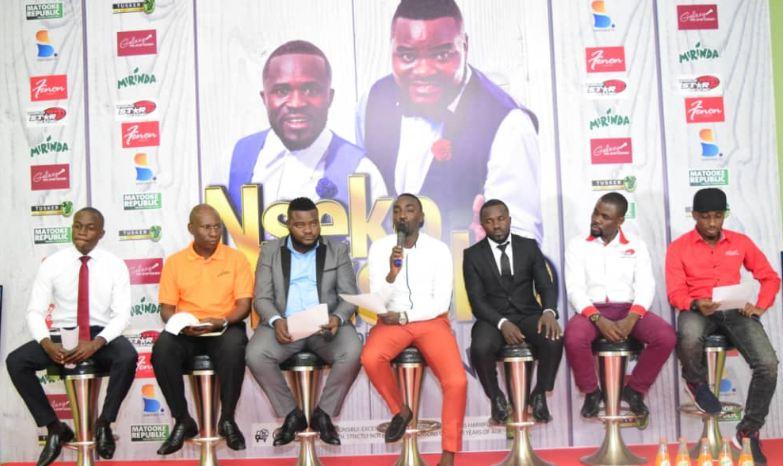 Nseko Buseko  show pres conference