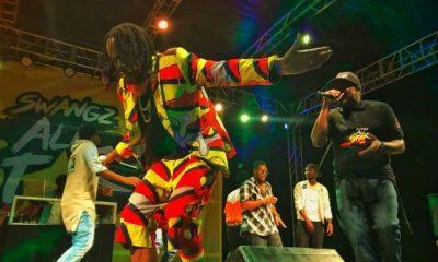Vamposs entertains revelers in Mbale.