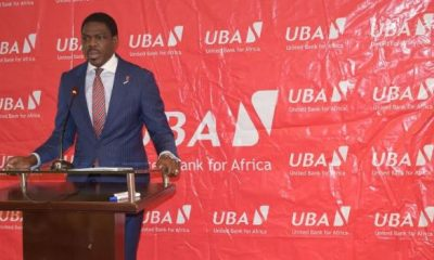 Johnson Agoreyo, the Managing Director and CEO of UBA Uganda