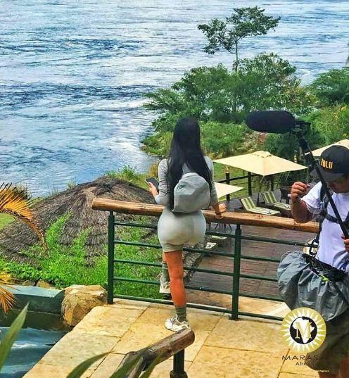 Kim Kardashian in Uganda