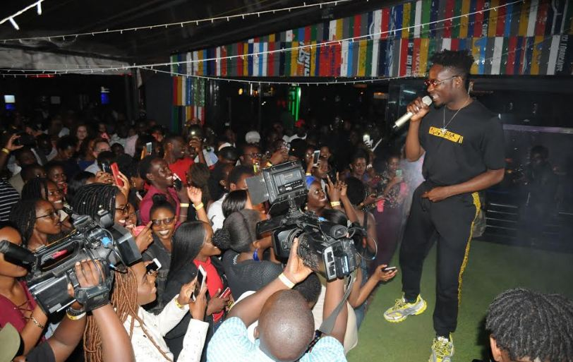 Mr. Eazi thrills fans at album listening party