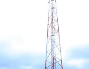 An Airtel Mast in Palabek Refugge Camp