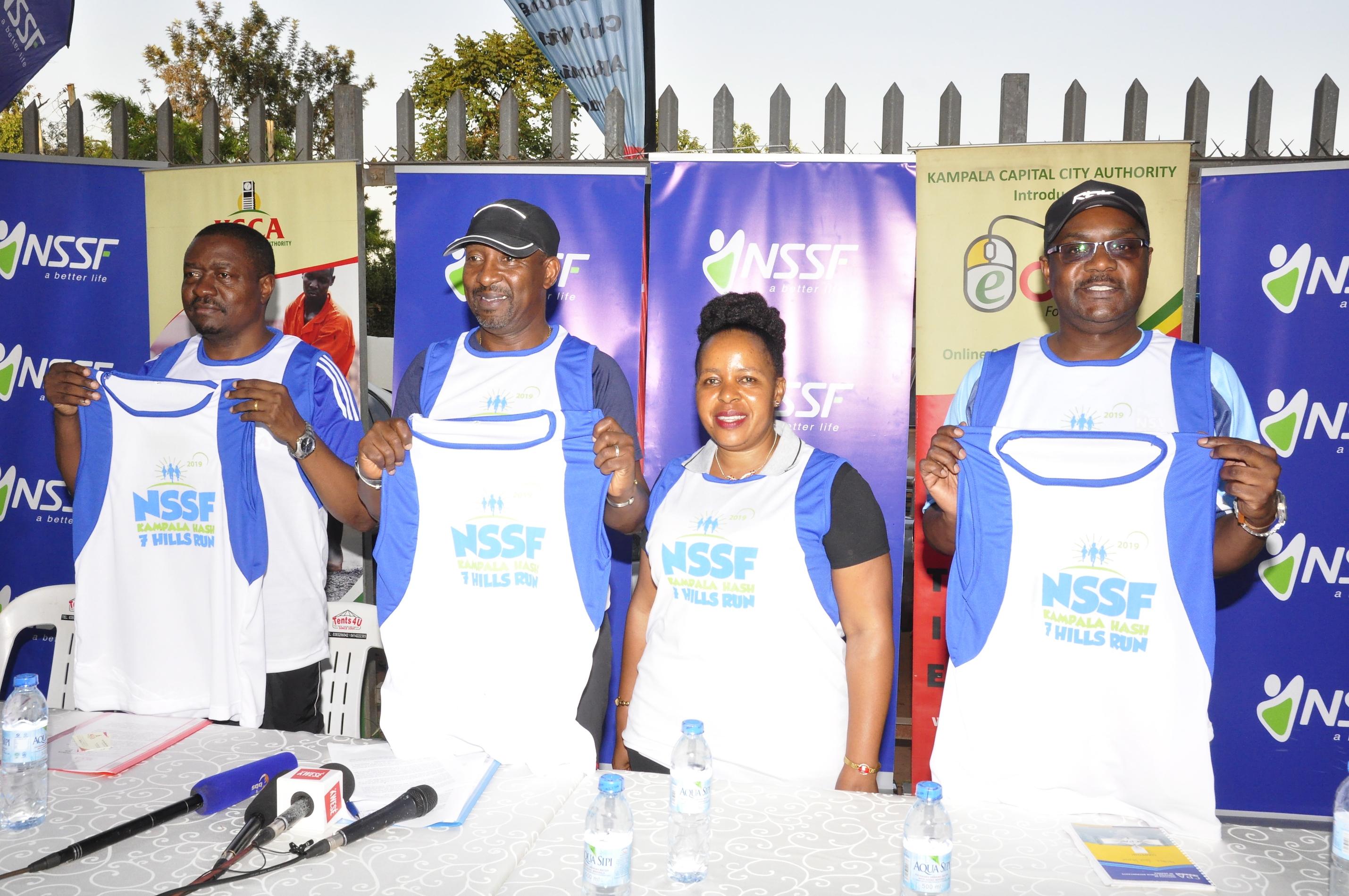 Kampala 7 Hills Hash Run launched
