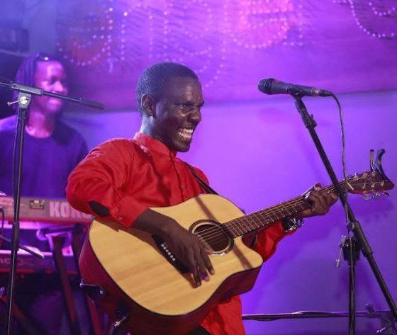 Kenneth Mugabiperforms at the Johnnie Walker Unplugged show.