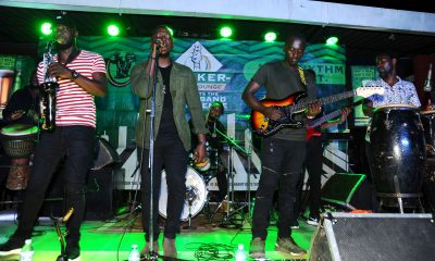 Janzi band performs at the Tusker Malt Music Lounge