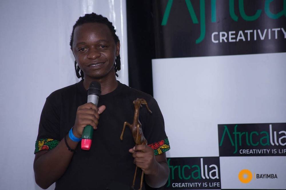 Andrew Kaggwa, one of the judges for the Golden Impala Awards
