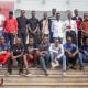 Some of the Debate Society Uganda members