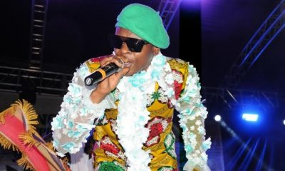 Jose Chameleone performs at Roast and Rhyme