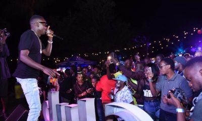 John Blaq performs at Evoke Night in Jinja