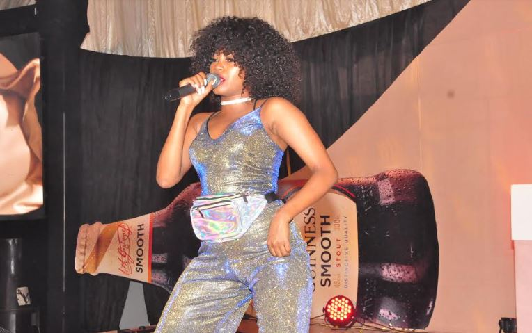 Sheebah entertains guests at the Guinness Smooth launch