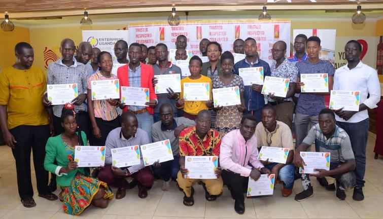 UBL has given cash rewards to 10 youth from Northern Uganda for their startup businesses.