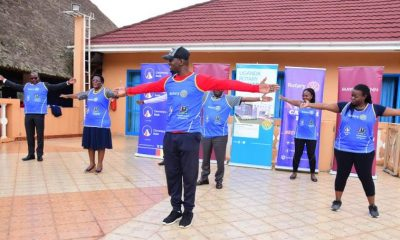 Workout Session during the 2020 Rotary Cancer Run Launch
