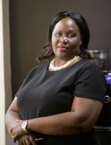 MTN's General Manager Corporate Affairs Enid Edroma