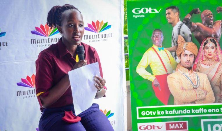 Ms. Joan Kizza Semanda, the PR and Communications Manager, at MultiChoice Uganda